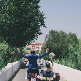 Wedding with a Sidecar in the Algarve