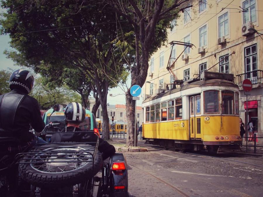 Sidecar tours Lisbon
