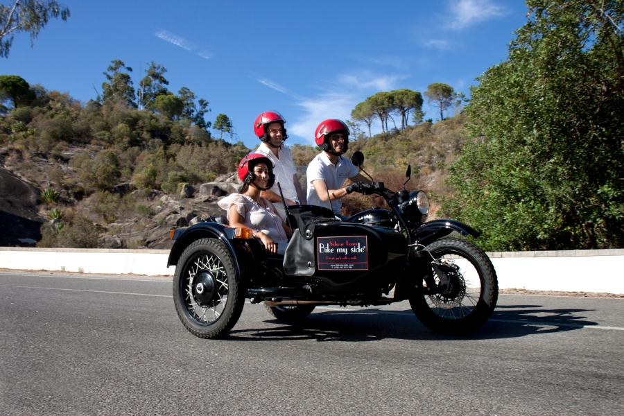 Sidecar Tours Bike my Side Algarve