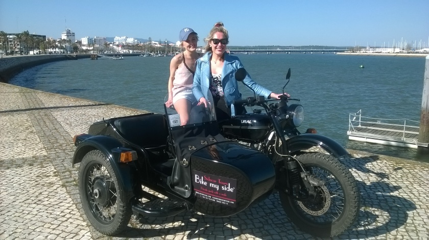 England Girls Sidecar tours