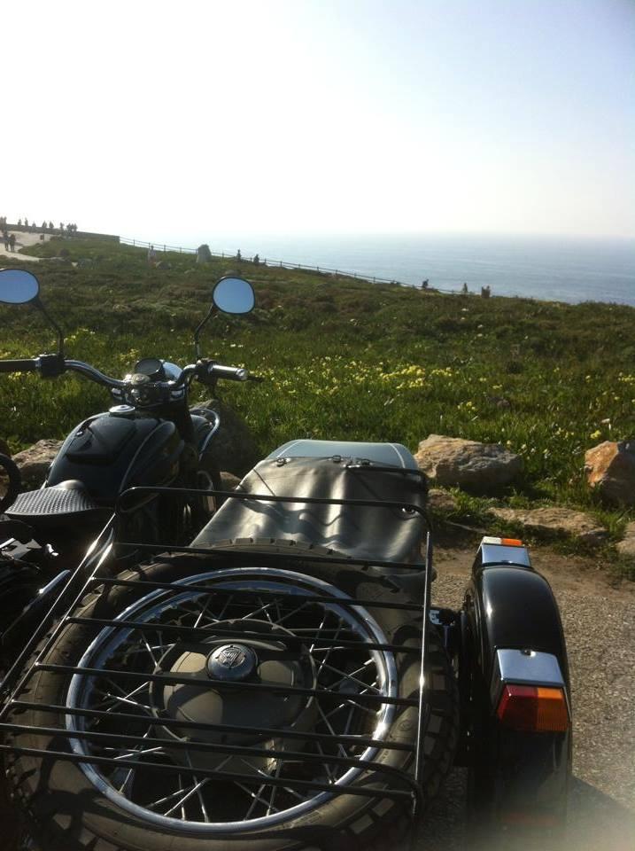 Sidecar tours Lisbon cabo da roca