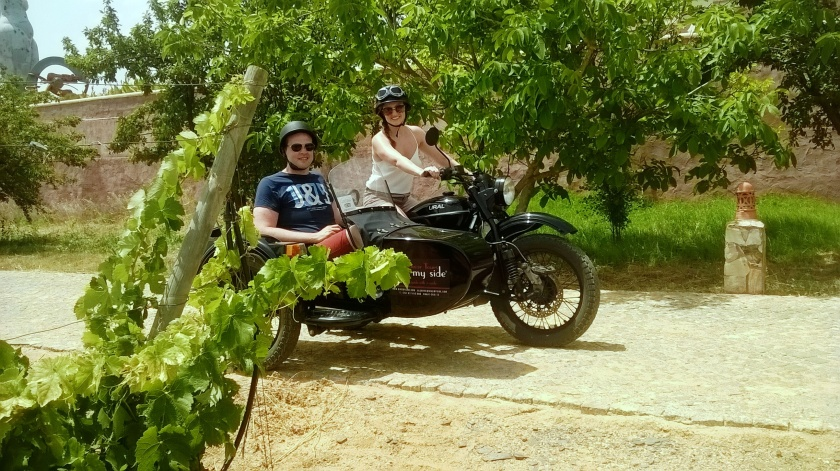Bike my Side Sidecar Tours Algarve winerays