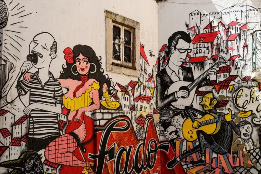 Fado urban art Lisbon