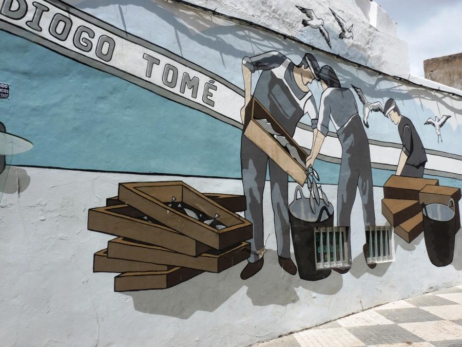 Urban Art at Portimão