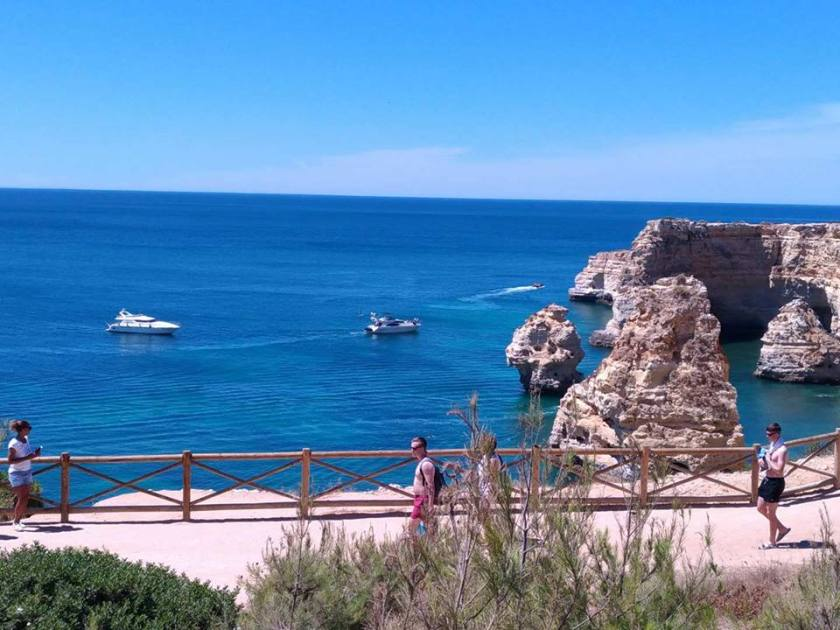 Praia da Marinha Sidecar Tours